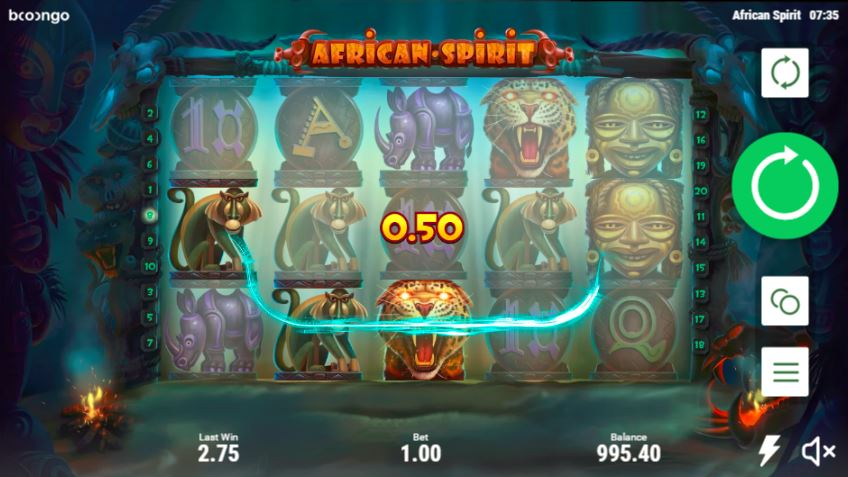 African Spirit slot game review