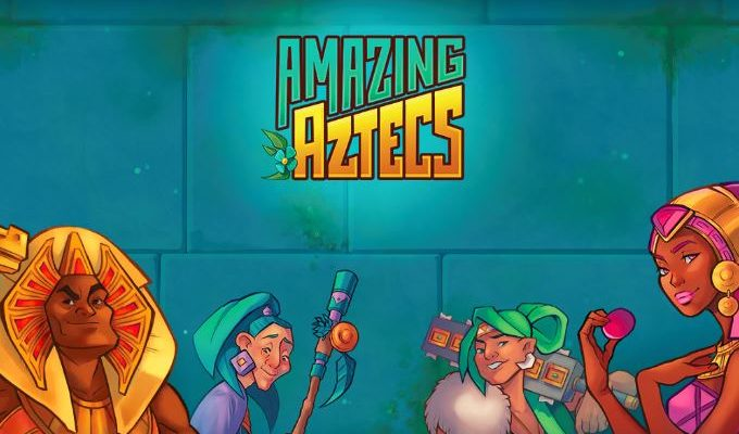 Want to be a big winner? Sign up now at Happyluke and play Amazing Aztecs