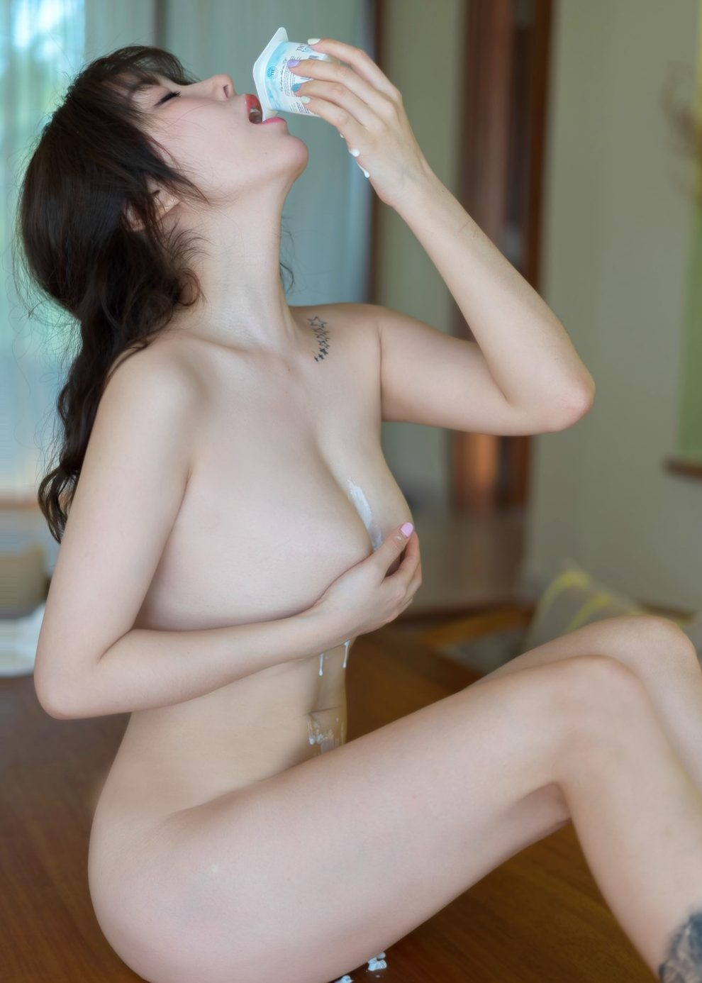 wang yu chun naked lick her sexy body wants to fuck