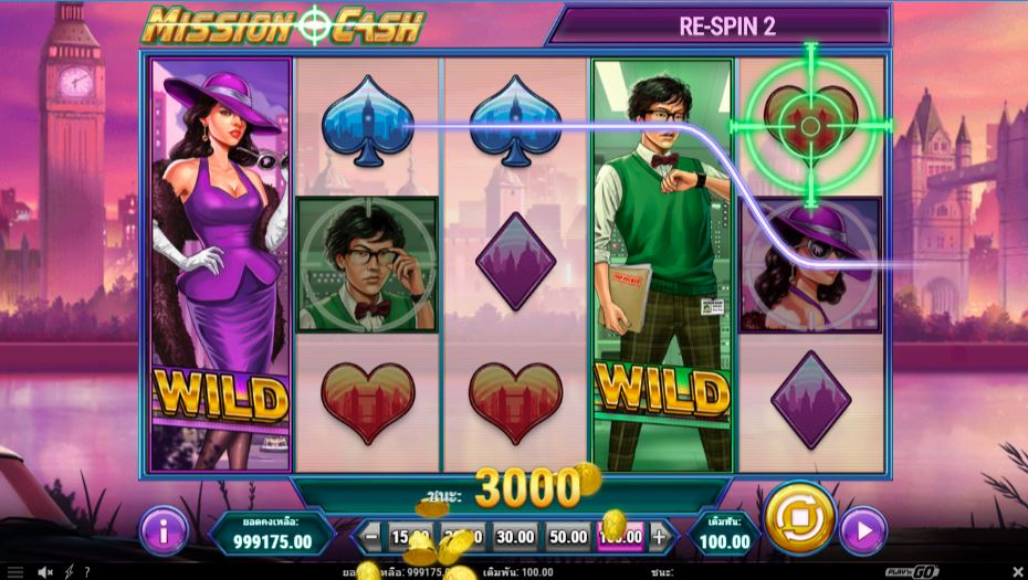 mission cash slot game Happyluke