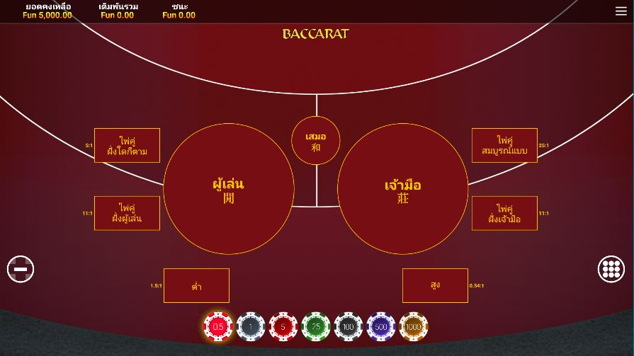Top 3 Features of OneTouch Baccarat That Makes it Worth Playing
